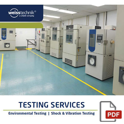 Testing Services Brochure